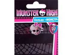 Кольцо металлическое с изображением черепа, Monster High (21359)