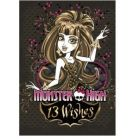 "85274 Блокнот ""Monster High"",  А7,60 листов, клетка, спираль"